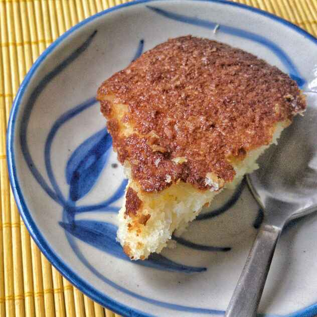 Photo of Baked Coconut Cake/ Cocada De Forno by Madhumita Pyne at BetterButter