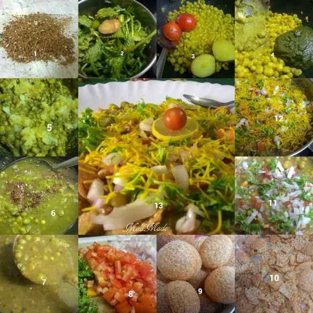 Photo of Masala Puri- Chaat using Peas by Madhura Pradeep at BetterButter
