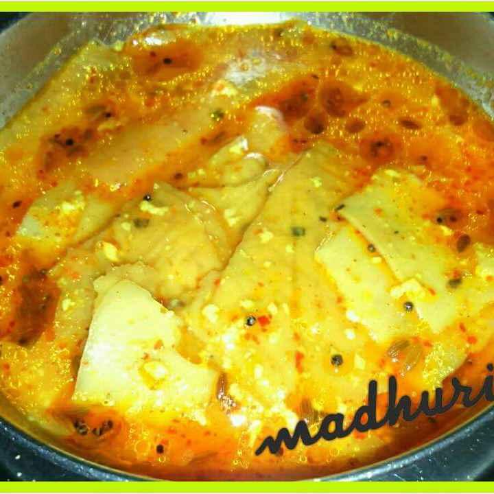 Photo of Rajasthai papad ki sabzi by Madhuri Jain (Home chef) at BetterButter