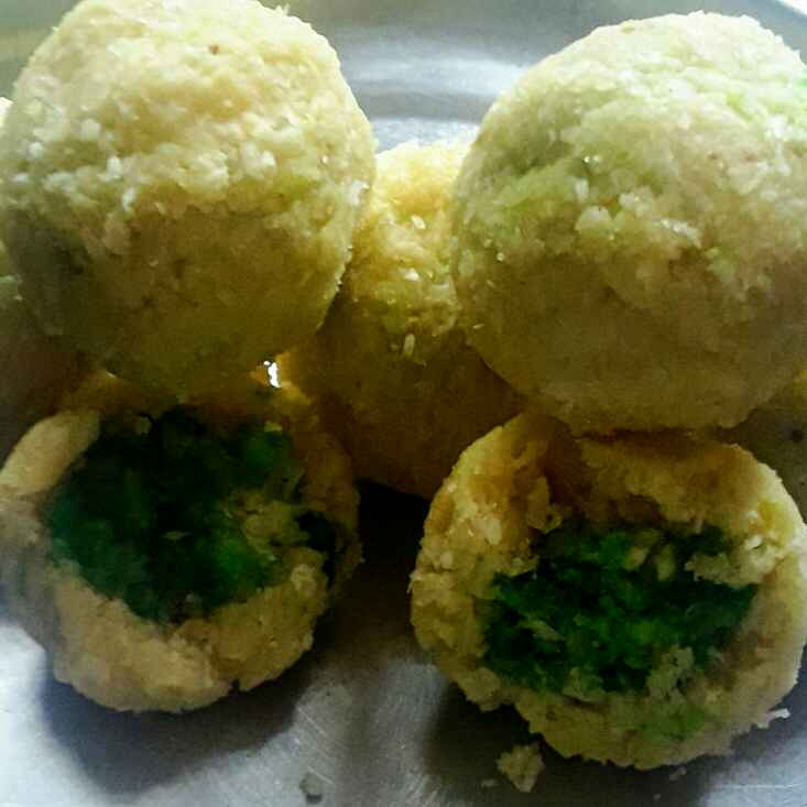 Photo of Coconut dry food ladu by Madhuri Lashkariya at BetterButter