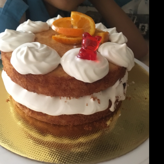 Photo of classic Victoria sponge cake by Madhuri Samudrapu at BetterButter