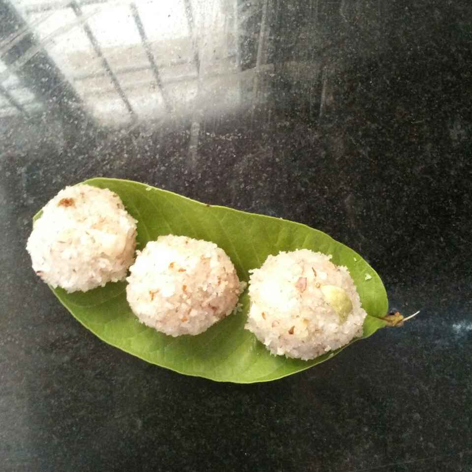 Photo of Coconut laddu by Maharasi Devendiran at BetterButter