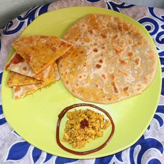 Photo of chicken keema paratha by Mahek Naaz at BetterButter