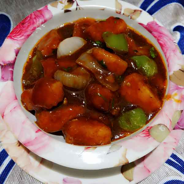 How to make চিলি পনীর