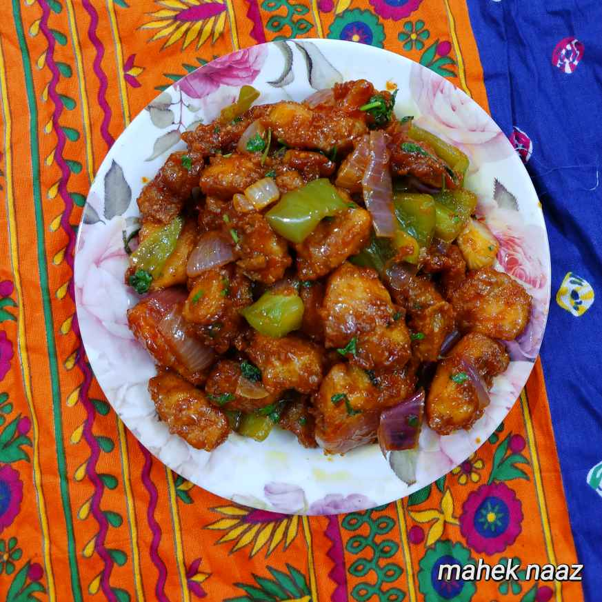 Photo of chilli chicken by Mahek Naaz at BetterButter