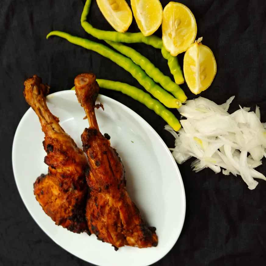 Photo of tandoori chicken ( Gas Made ). by Mahek Naaz at BetterButter