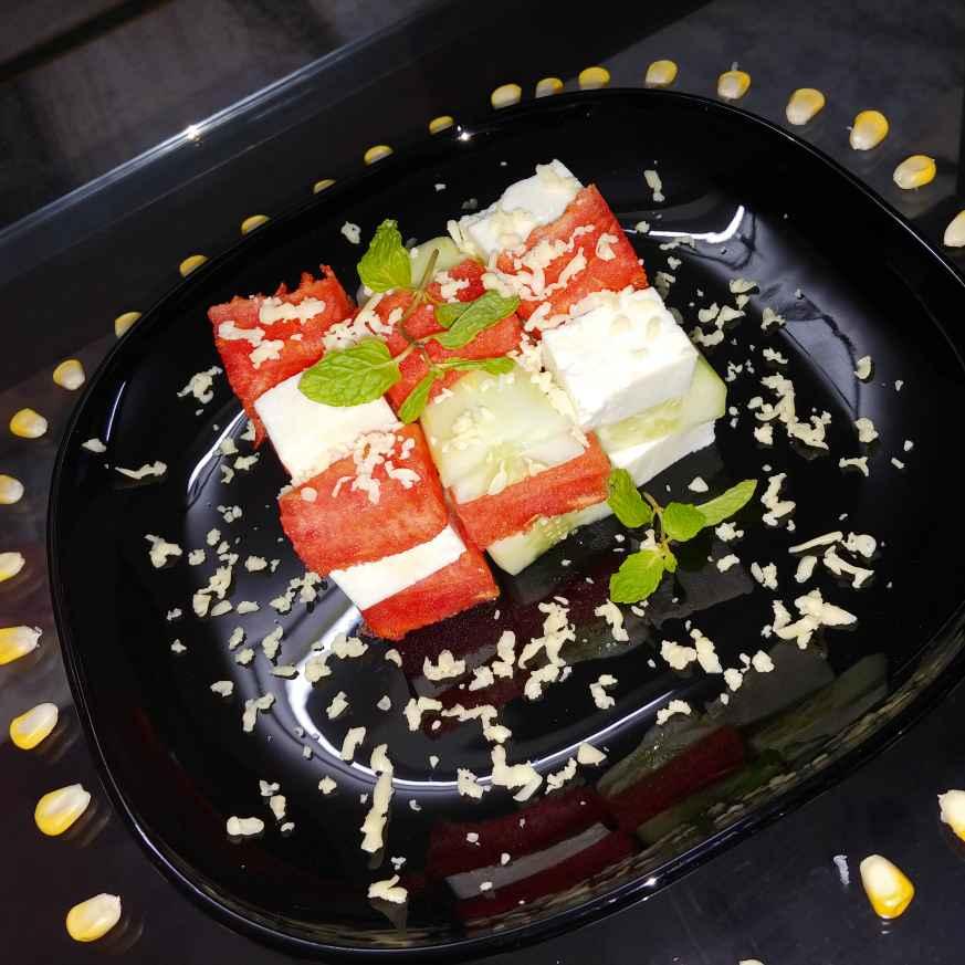 Photo of paneer cube summer salad by Mahek Naaz at BetterButter