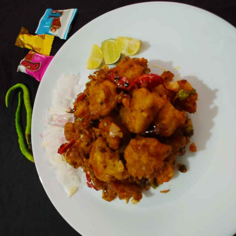 Photo of loose chilli prawns by Mahek Naaz at BetterButter
