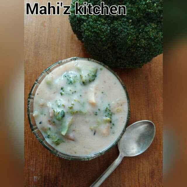 How to make Creamy brocolli soup