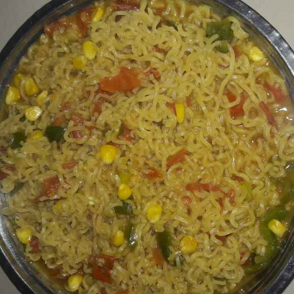 Photo of Makki masala maggi by Mahima Trivedi at BetterButter