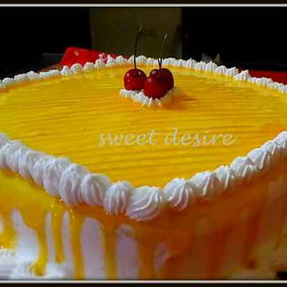 How to make Mango Filled Cake