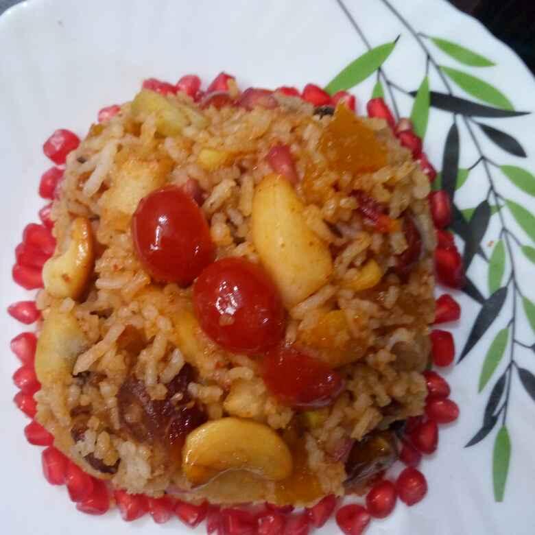 Photo of Fruit Pulao by Mahua Ganguli at BetterButter