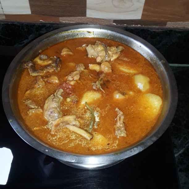 Photo of chicken er patla jhol by Mahua Nath at BetterButter