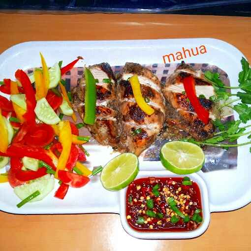 Photo of Thai grilled chicken by Mahua Nath at BetterButter