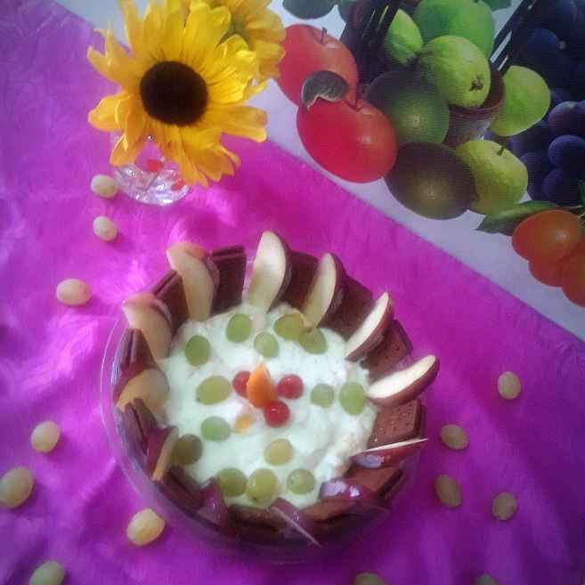 Photo of Shrikhand biscuit pudding by Mahua Nath at BetterButter