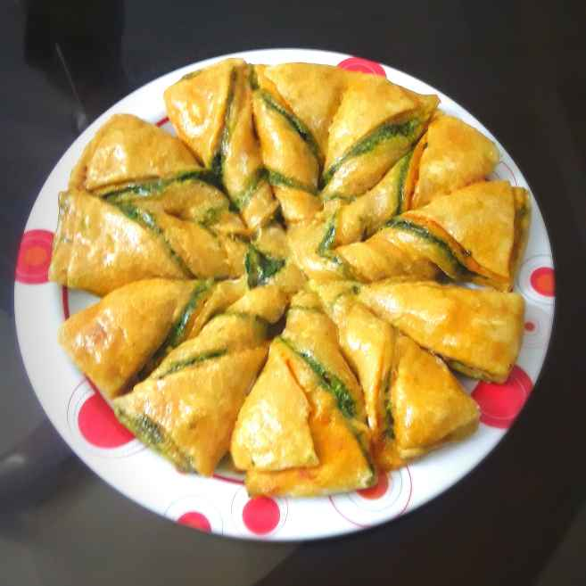 Photo of Star pizza bread by Mahua Nath at BetterButter
