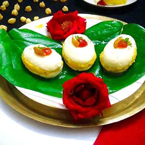 Photo of Kabli chana o paneer er malai sandwich by Mahua Nath at BetterButter