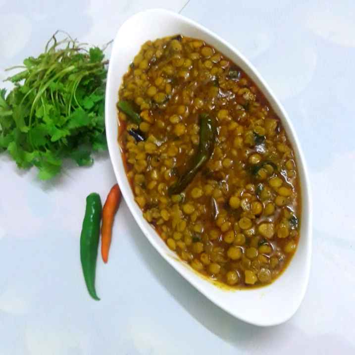 Photo of Cooker a cholar dal bhuna by Mahua Nath at BetterButter
