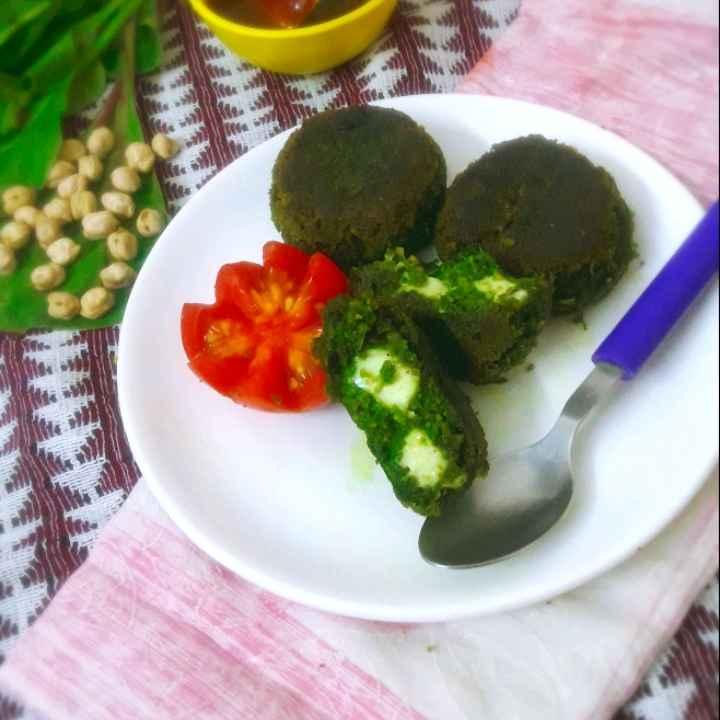 Photo of Palak chane kabab by Mahua Nath at BetterButter