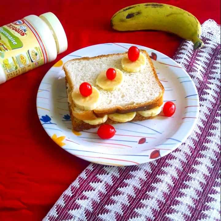 Photo of Banana funfood sandwich by Mahua Nath at BetterButter