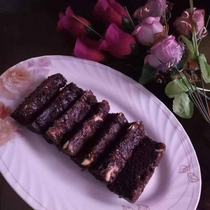 Photo of chocolate slice cake by Mahua Sadhukhan at BetterButter