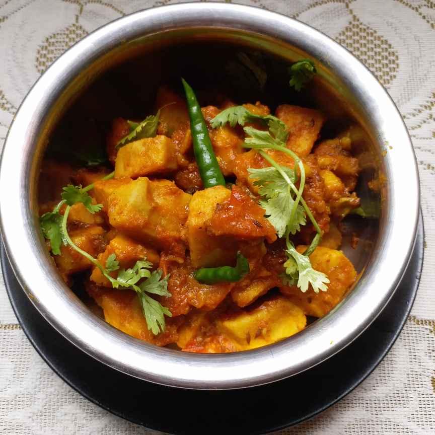 Photo of Ol curry by Mala Basu at BetterButter