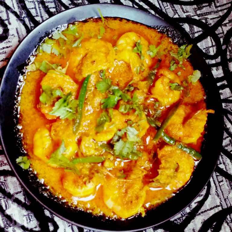 How to make দই চিংড়ি