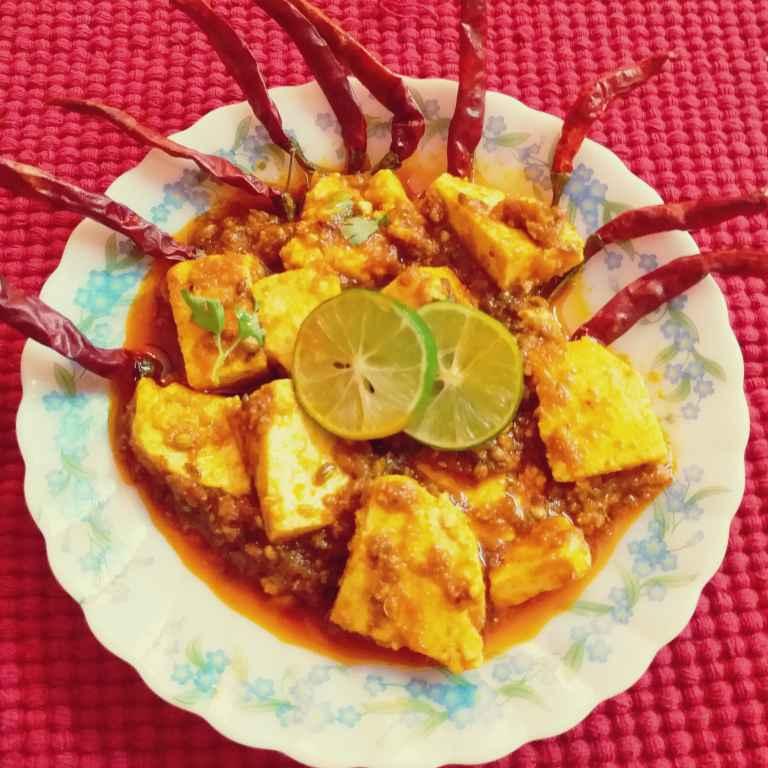 Photo of Paneer ghee roast by Mala Basu at BetterButter