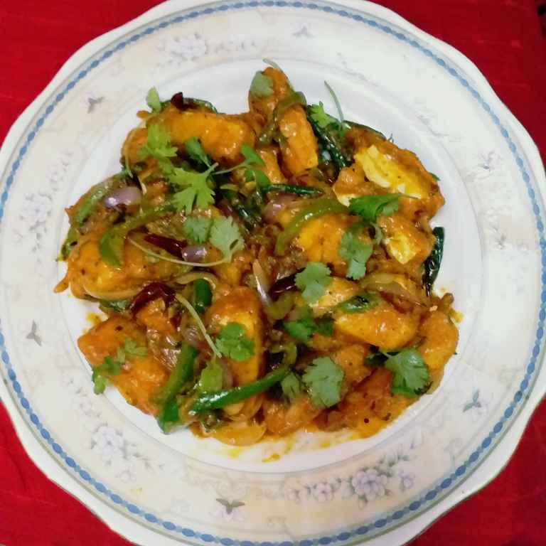 Photo of Hyderabadi paneer majestic by Mala Basu at BetterButter