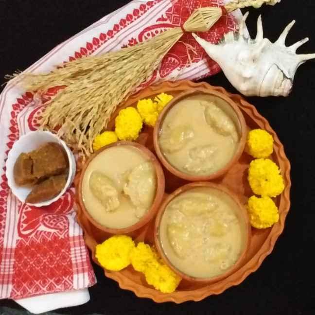 Photo of Dudh puli pitha by Mala Basu at BetterButter