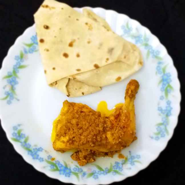 Photo of chiken chaap by Mala Basu at BetterButter