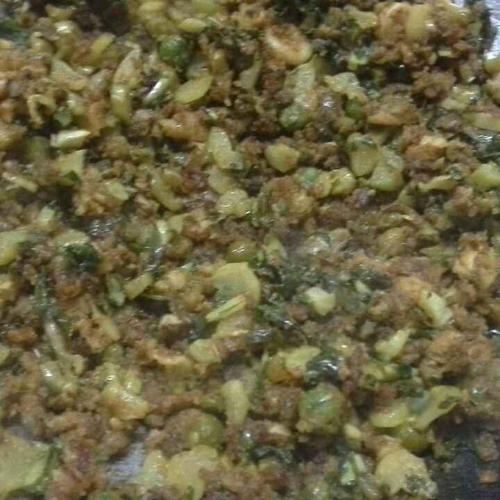 How to make Veggies Burjee