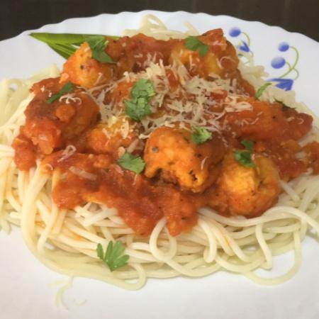 Photo of Spaghetti and Cheese balls by Malathy C at BetterButter