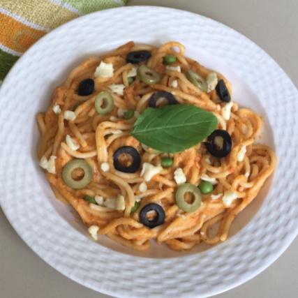 How to make Spaghetti in Creamy Tomato Sauce