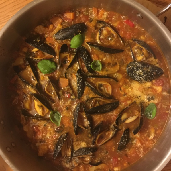 Photo of Mediterranean Seafood Soup! by Mallika Chaudhary at BetterButter