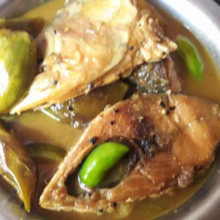 How to make বেগুন দিয়ে ইলিশ মাছ
