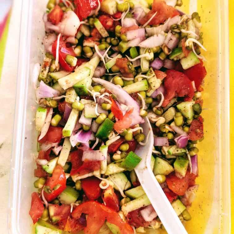 Photo of Sprouts Salad by Mallika Udayakumar at BetterButter