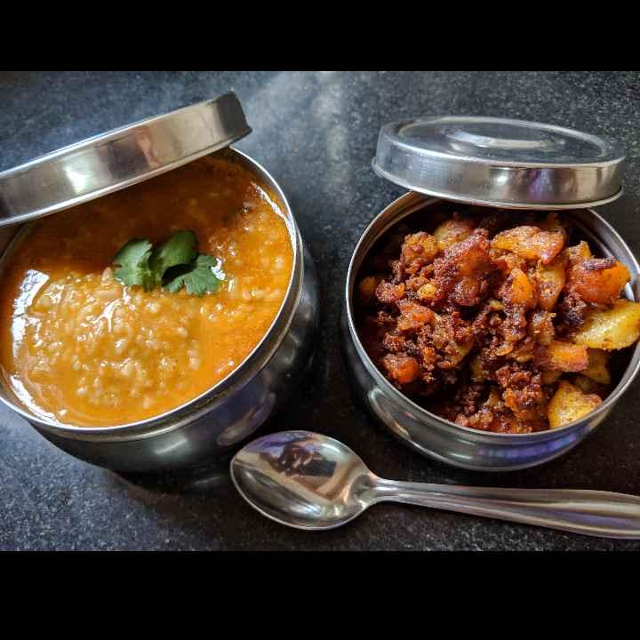 Photo of Rasam Kojju And Potato Fry by Mallika Udayakumar at BetterButter