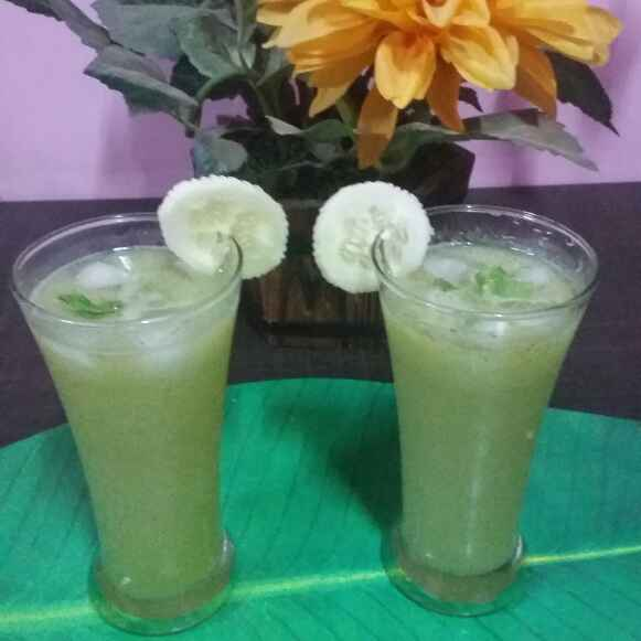 Photo of CUCUMBER MINT COOLER. by Mamata Dash at BetterButter