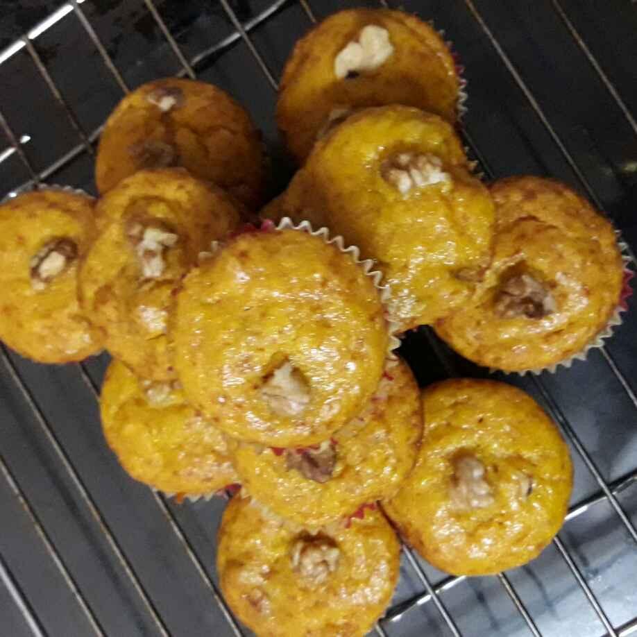 Photo of Mango walnut Muffins by Mamata Dash at BetterButter