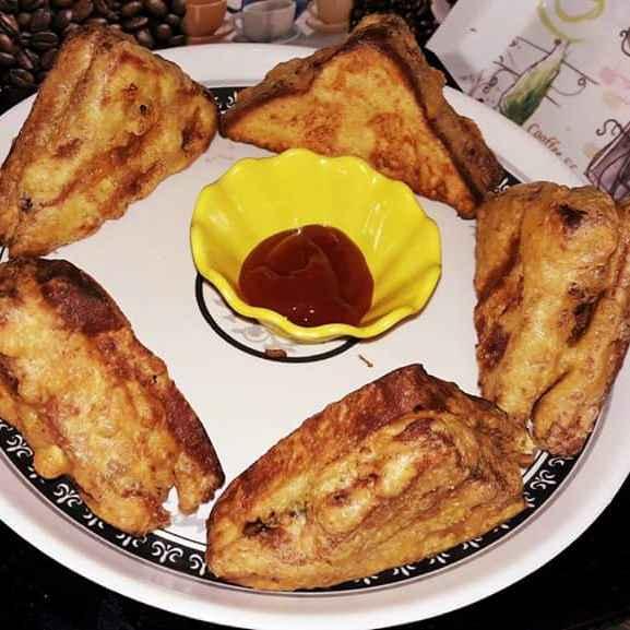 Photo of Bread pakora  by Maa ki at BetterButter