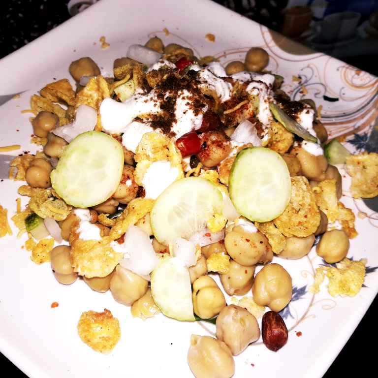 How to make Kabuli chana chaat