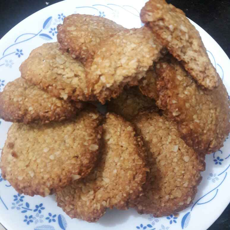 Photo of Oats peanut Butter Cookies by Mamta Joshi at BetterButter