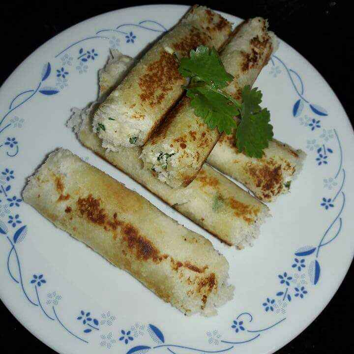 Photo of Paneer bread roll by Mamta Joshi at BetterButter