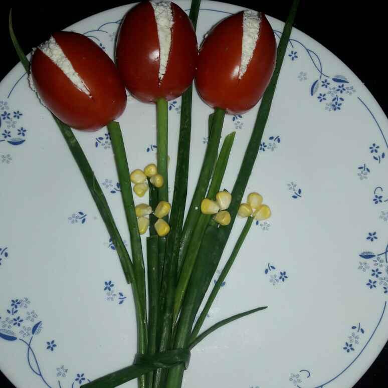 How to make Corn-tomato-paneer salad