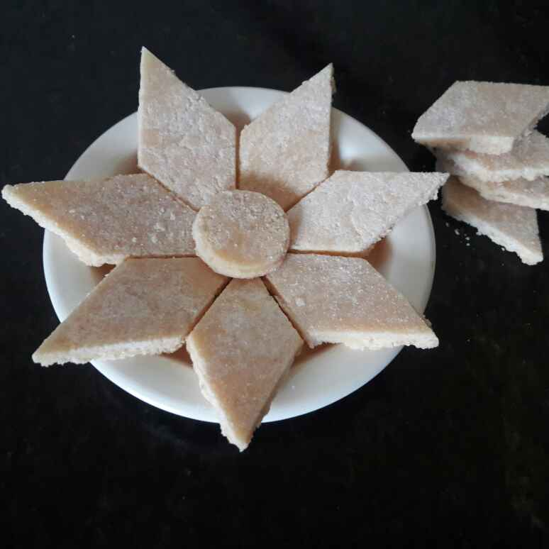 How to make Shrikhand barfi /dahi ki barfi