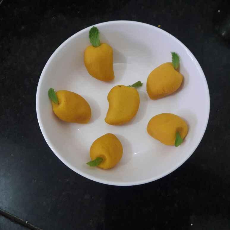How to make Mango sandesh