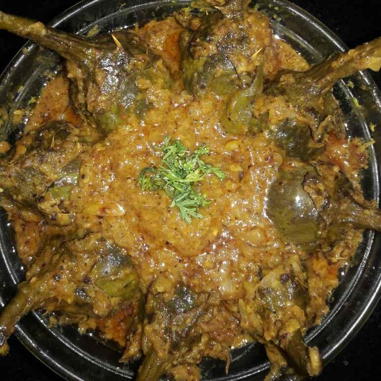 Photo of Bangan masala (bharwan baingan ) by Mamta Joshi at BetterButter