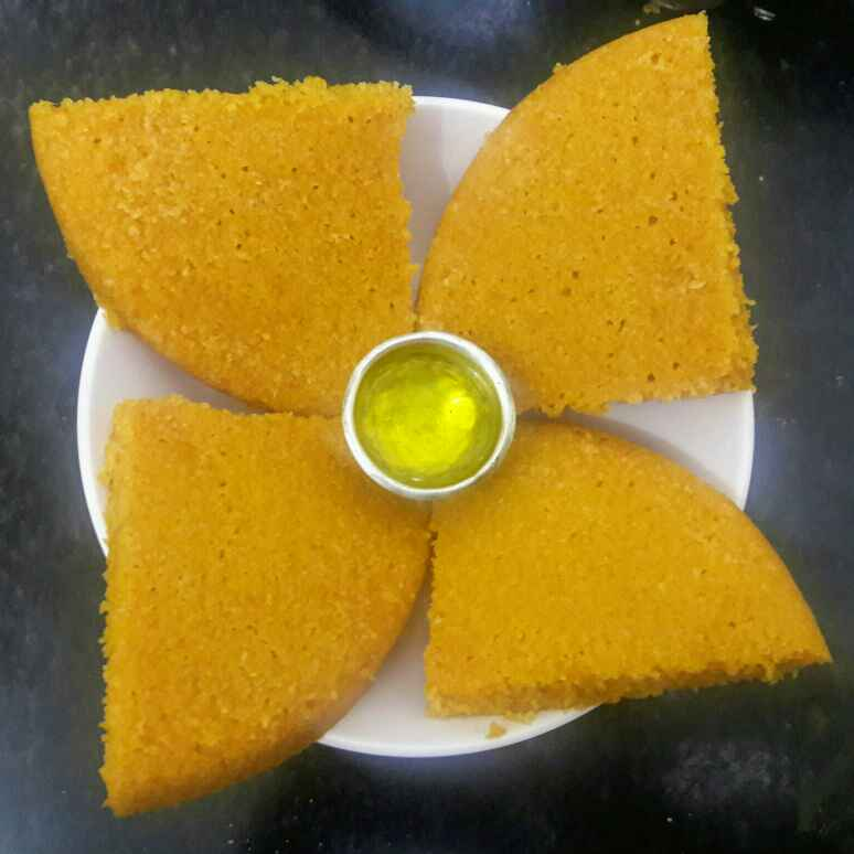 Photo of Sandan (rise cake-aam ki) by Mamta Joshi at BetterButter