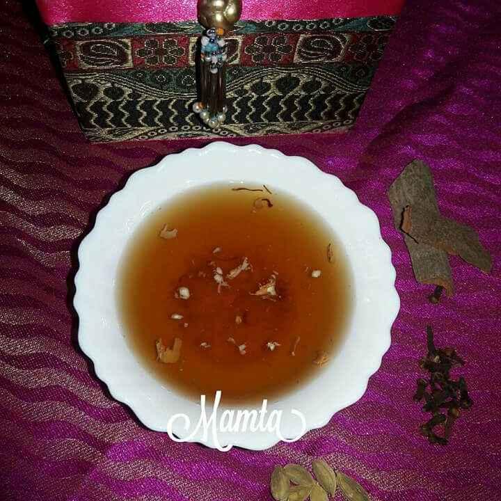 Photo of Kahwa /kashmiri chay by Mamta Joshi at BetterButter